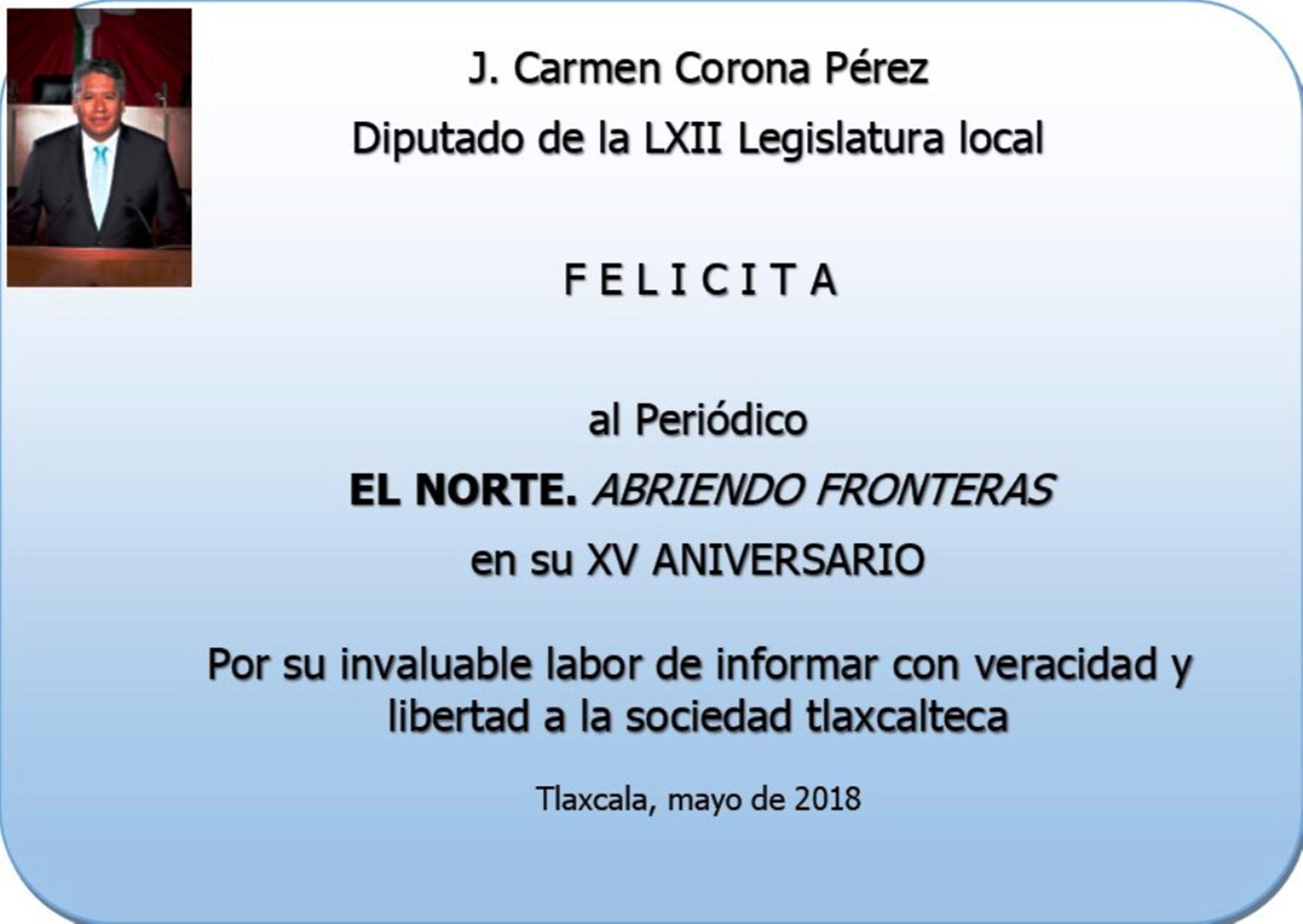 FELICITACIÓN J. CARMEN 4