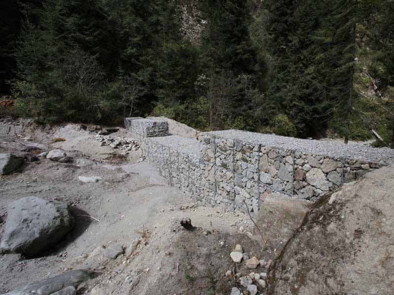 El gobierno del estado, mediante el apoyo de autoridades federales, municipales y pobladores, en este año realizó diversas acciones para proteger al Parque Nacional Malinche, como la construcción de presas de gavión