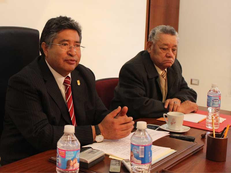 El rector de la UAT, Rubén Reyes Córdoba garantizó que continuará el trabajo institucional para fortalecer a la máxima casa de estudios de la entidad