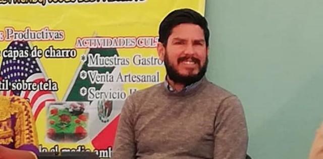 Marco Antonio Castillo, integrante de la Red de Pueblos Trasnacionales